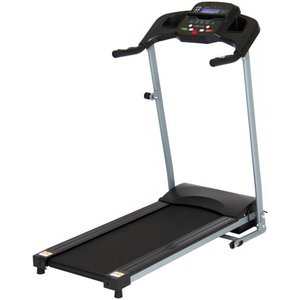 Best Choice Products 800W Portable Folding Electric Motorized Treadmill Machine w/ Rolling Wheels - Black
