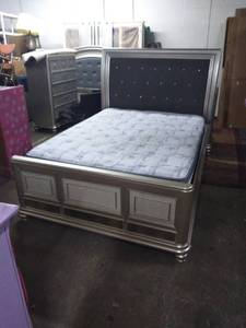 Ashley Furniture Modern Queen Size Bed