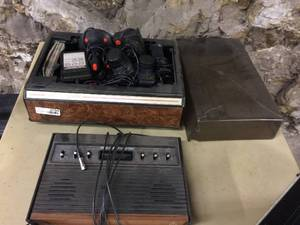 Original Atari System with Cable, Controllers and a Bunch of Games