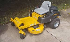 42 in. Cut Hustler Raptor Riding Mower w/ Kohler 22 HP 7000 Series Engine ~ Model #935742 Serial #17061390 ~ Almost New / Very Low Hours