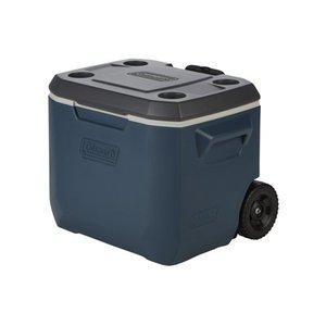 Coleman 50 Quart Xtreme 5 Day Heavy Duty Cooler, Wheels, 84 Can, Slate