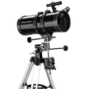 Celestron - PowerSeeker 127EQ Telescope - Manual German Equatorial Telescope for Beginners - Compact and Portable