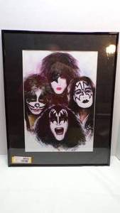 KISS PICTURE - 16X20