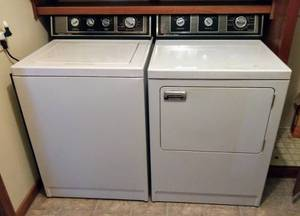 Signature 2000 by Norge Washer & Dryer ~ Working