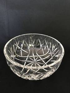 Waterford cut glass bowl