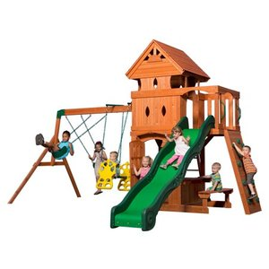 Backyard Discovery Monterey All Cedar Swing Set. *Complete Set Ready For Assembly