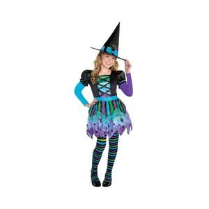 Halloween Girls' Spell Caster Halloween Costume S, Girl's, Size: Small, MultiColored