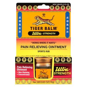 Tiger Balm Ultra Strength / Camphor (Synthetic) and Menthol / OINTMENT