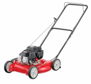 "Yard Machines 20"" Gas Push Lawn Mower with Side Discharge"