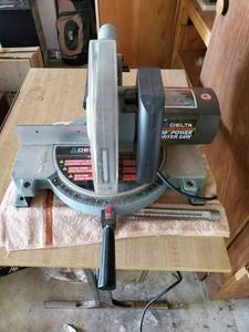 DELTA 10 INCH Power Miter Saw - Tested & Working