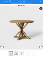 New in box dining table as pictured retails for $400