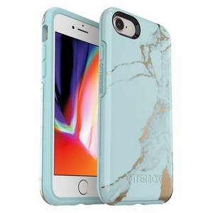 OtterBox Apple iPhone SE (2nd gen)/8/7 Symmetry Case - Teal Marble