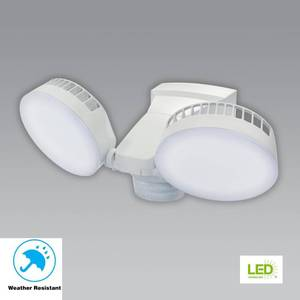 270° White Integrated LED Outdoor Motion Sensor Light
