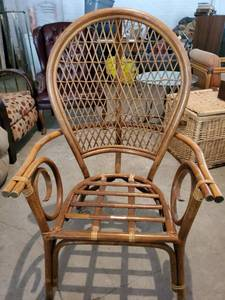 PT Sandi Furni Made in Indonesia Wicker Back Chair