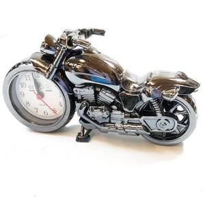 motorcycle alarm clock top grade autobike model collector's item