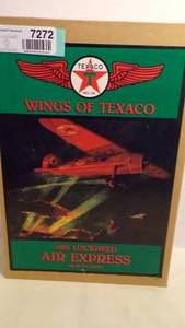 WINGS OF TEXACO DIE CAST AIRPLANE BANK SERIES