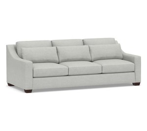 York Slope Arm Deep Seat Upholstered Sofa