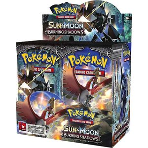 Pokemon TCG: Sun and Moon Burning Shadows Booster Trading Cards