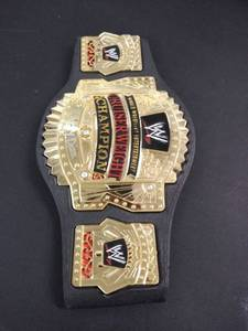 signed wrestling belt dizzy dizz