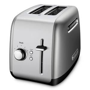 KitchenAid - KMT2115CU 2-Slice Wide-Slot Toaster - Contour Silver