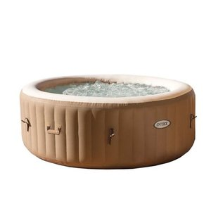 Intex 4-Person PureSpa Bubble Massage Inflatable Hot Tub Spa