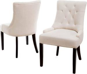 Hayden Tufted Fabric Dining Chairs