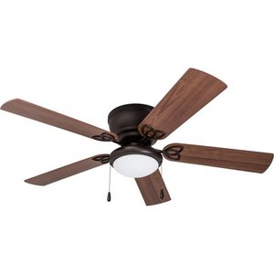 "52"" Benton Hugger LED Ceiling Fan, Bronze"