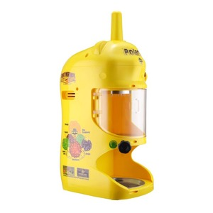 83-NA6066 Yellow Hawaiian Ice Shaver 120V Electric Snow Cone Machine