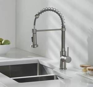Vigo pull down kitchen spray faucet stainless steel 1.8 us GPM Max 60 PSI
