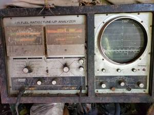 Sears Air Fuel / Tune Up Analyzer. On Stand. Remove on Your Own
