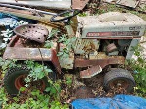 HuskyTractor Untested. No Battery .Bring Own Mean Of Removal