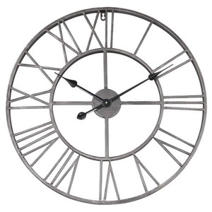 The Gray Barn Grey Round Roman Wall Clock Retail: $109.49