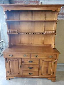 2 Piece YOUNG REPUBLIC Dining Room Hutch