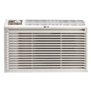 LG 5,000 BTU Window Air Conditioner with Manual Controls