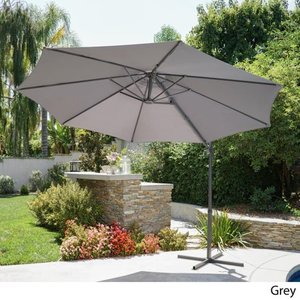 Piazza Outdoor 11.5-foot Canopy Umbrella by Christopher Knight Home