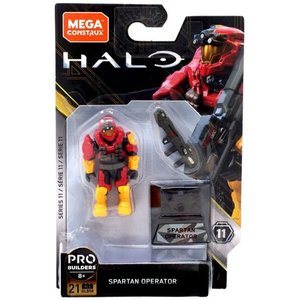 Halo Heroes Series 11 Spartan Operator Mini Figure