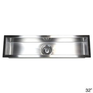Stainless Steel Undermount Kitchen Prep Bar Sink Retail: $125.99