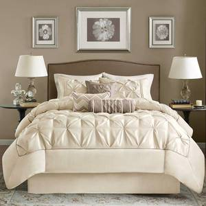 Madison Park Lafayette Ivory 7- Piece Comforter Set