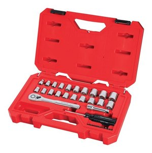 Craftsman 3/8 in. drive Metric and SAE 6 Point Mechanic's Tool Set