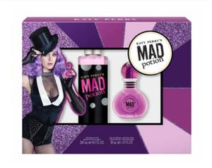 Katy Perry's Mad Potion Eau De Perfume Natural Spray And 2 Bath Bombs Gift Set
