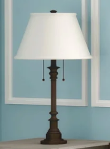 "Davies 30.5"" Table Lamp - Oil Rubbed Bronze Retail: $145.99"