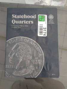 Statehood Quarters Book, INCOMPLETE COLLECTION