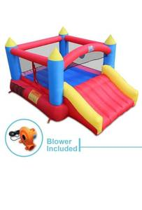 ACTION AIR Inflatable Bounce House Jumping Castle with Slide Retail: $263.99