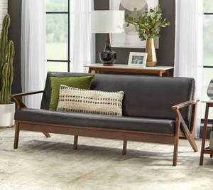 Simple Living Bianca Mid-Century Solid Wood Sofa Retail: $516.99