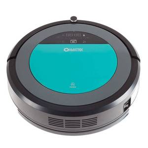 Robotic Vacuum Cleaner and Mop - Amatrix V600 Dual Vacuuming and Mopping Cleaning Robot with Remote, Self Charging Retail: $208.99
