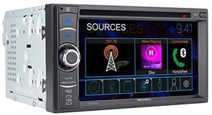 Jensen Cdr462 6.2 Inch Led Multimedia Touch Screen Double Din Car Stereo |cd ...