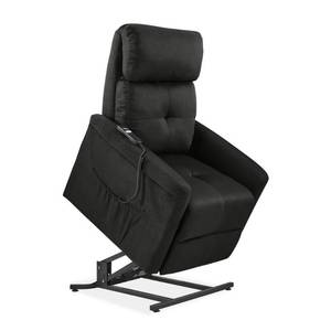 ProLounger Gray Microfiber Power Recline and Lift Chair