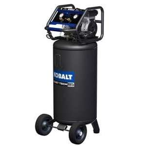 Kobalt QUIET TECH 26-Gallon Portable Electric Vertical Quiet Air Compressor