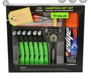 Mens Schick Gift Set
