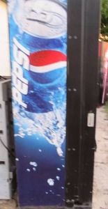 Commercial Dixie Narco - Pepsi Machine with Dollar Bill Validator - Gets Cold and Takes Money